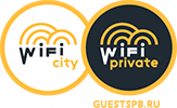 City and private WiFi service